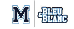 Poly Matane Hockey Bleu et Blanc
